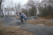 Pumptrack in Rekordzeit fertiggestellt