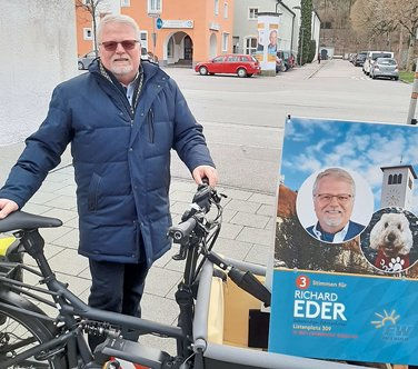 Richard Eder will fürs Niedermayerviertel in den Stadtrat